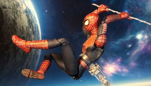 Medicom MAFEX Amazing Spider-Man 2 Movie Action Figure 03