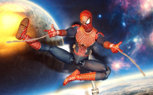 Medicom MAFEX Amazing Spider-Man 2 Movie Action Figure 05