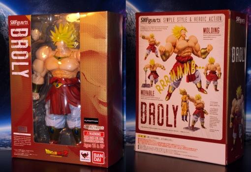 Bandai SH Figuarts Dragon Ball Z Super Saiyan Broly 01