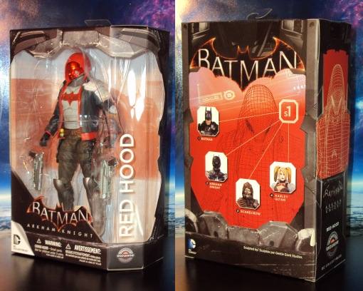 DC Collectibles Gamestop Batman Arkham Knight Red Hood 01