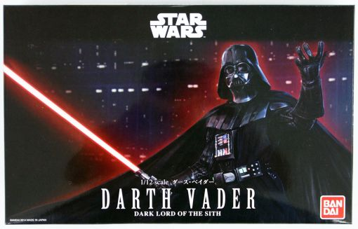 Bandai Darth Vader Model Kit 01