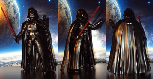 Bandai Darth Vader Model Kit 02
