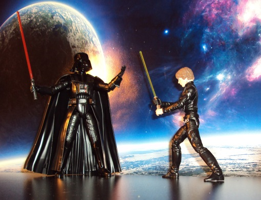 Bandai Darth Vader Model Kit 05