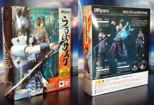 Bandai S.H. Figuarts Naruto Shippuden Uchiha Sasuke 01