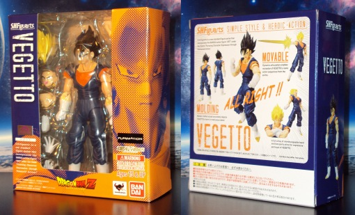 Bandai S.H.Figuarts Dragon Ball Z Vegetto 01