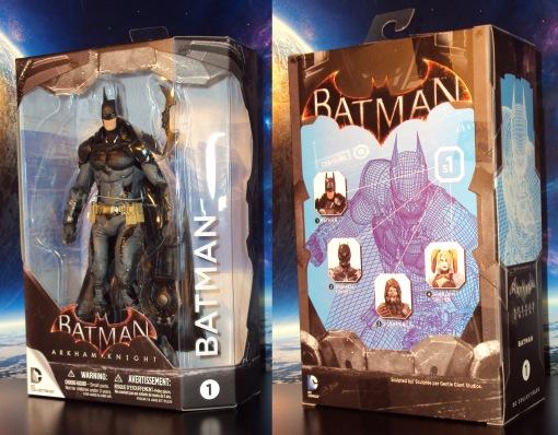 DC Collectibles Batman Arkham Batman 01