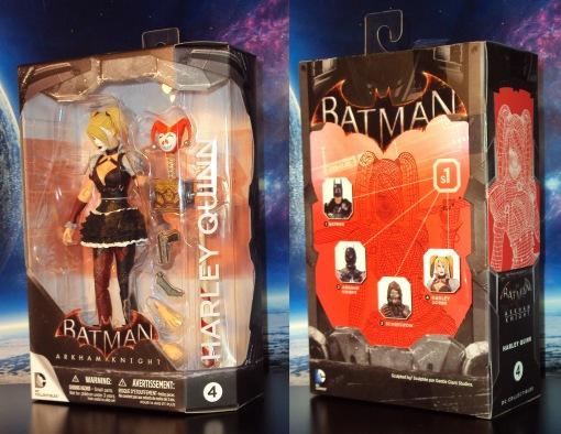DC Collectibles Batman Arkham Knight Harley Quinn 01