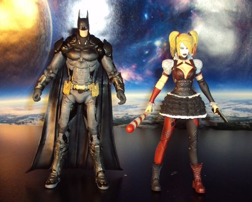 DC Collectibles Batman Arkham Knight Harley Quinn 03