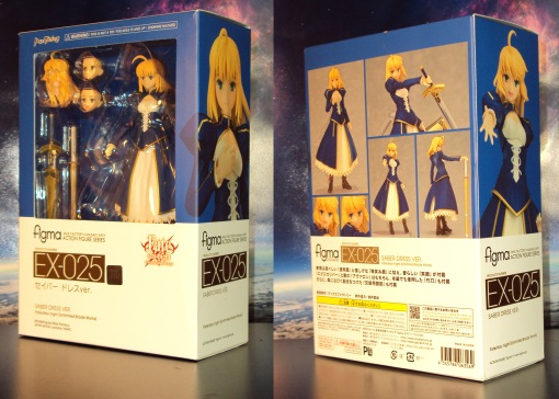 Figma EX-025 Fate Stay Night Unlimited Blade Works Saber Dress Version 01