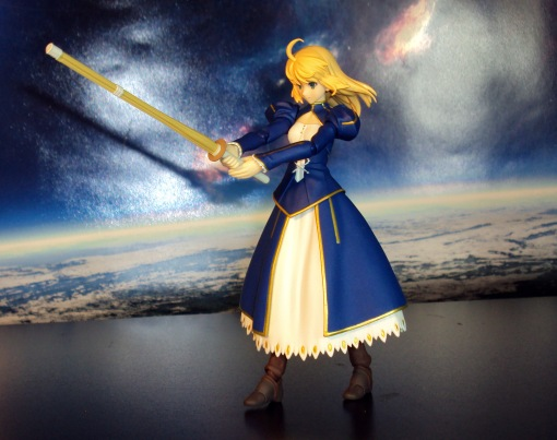 Figma EX-025 Fate Stay Night Unlimited Blade Works Saber Dress Version 04