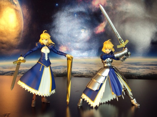 Figma EX-025 Fate Stay Night Unlimited Blade Works Saber Dress Version 05