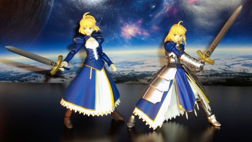 Figma EX-025 Fate Stay Night Unlimited Blade Works Saber Dress Version 06