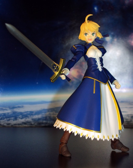 Figma EX-025 Fate Stay Night Unlimited Blade Works Saber Dress Version 07