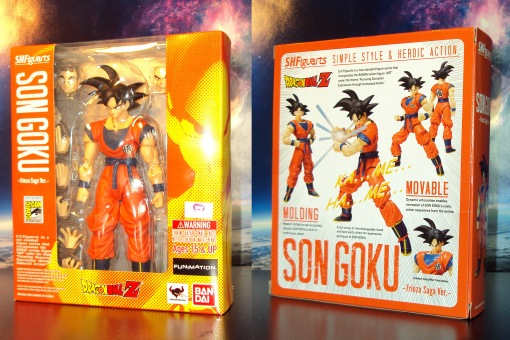 SDCC Bandai S.H. Figuarts Dragon Ball Z Son Goku Frieza Saga 01