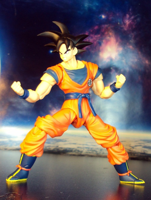 SDCC Bandai S.H. Figuarts Dragon Ball Z Son Goku Frieza Saga 05