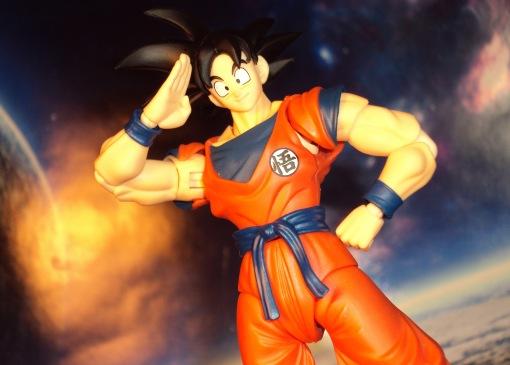 SDCC Bandai S.H. Figuarts Dragon Ball Z Son Goku Frieza Saga 06