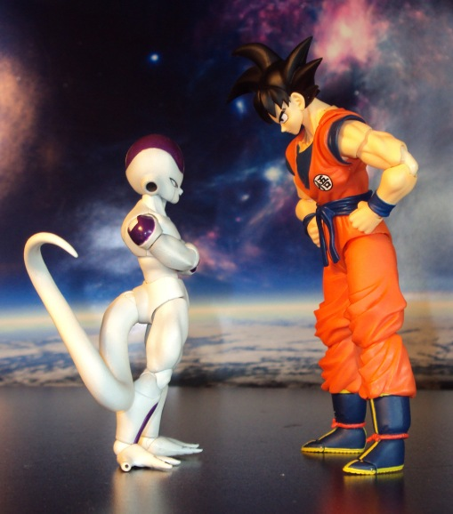 SDCC Bandai S.H. Figuarts Dragon Ball Z Son Goku Frieza Saga 07