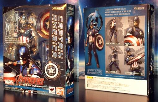 Bandai S.H. Figuarts Avengers Age of Ultron Captain America 01