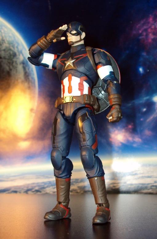 Bandai S.H. Figuarts Avengers Age of Ultron Captain America 07