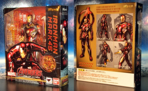 Bandai S.H. Figuarts Avengers Age of Ultron Iron Man Mark 45 01