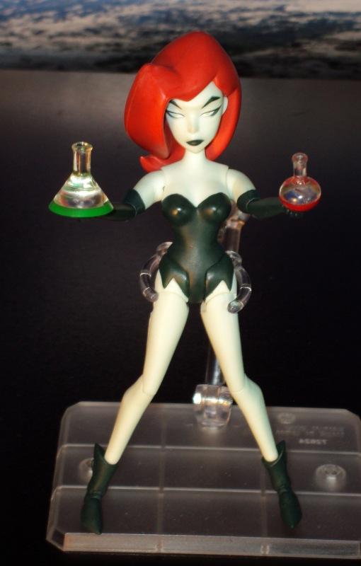 DC Collectibles Batman Animated Poison Ivy Action Figure 04