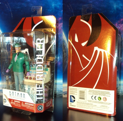 DC Collectibles Batman Animated The Riddler Action Figure 01