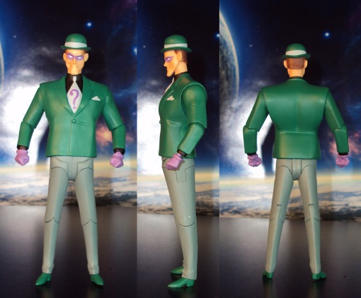DC Collectibles Batman Animated The Riddler Action Figure 02