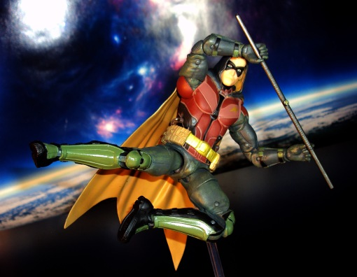 DC Collectibles Batman Arkham Knight Robin 04