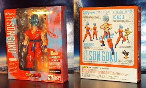 Bandai S.H. Figuarts Dragon Ball Z Super Saiyan God Super Saiyan Son Gokou 01