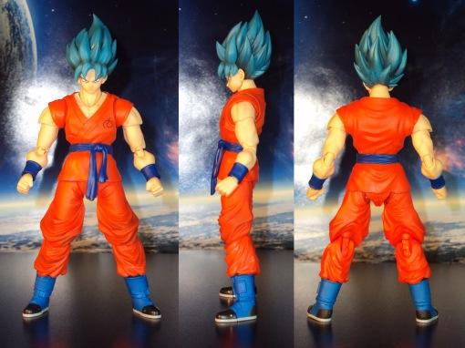 Bandai S.H. Figuarts Dragon Ball Z Super Saiyan God Super Saiyan Son Gokou 02