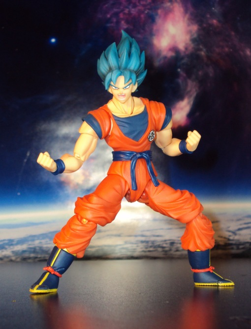 Bandai S.H. Figuarts Dragon Ball Z Super Saiyan God Super Saiyan Son Gokou 03