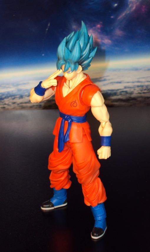 Bandai S.H. Figuarts Dragon Ball Z Super Saiyan God Super Saiyan Son Gokou 04