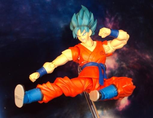 Bandai S.H. Figuarts Dragon Ball Z Super Saiyan God Super Saiyan Son Gokou 05