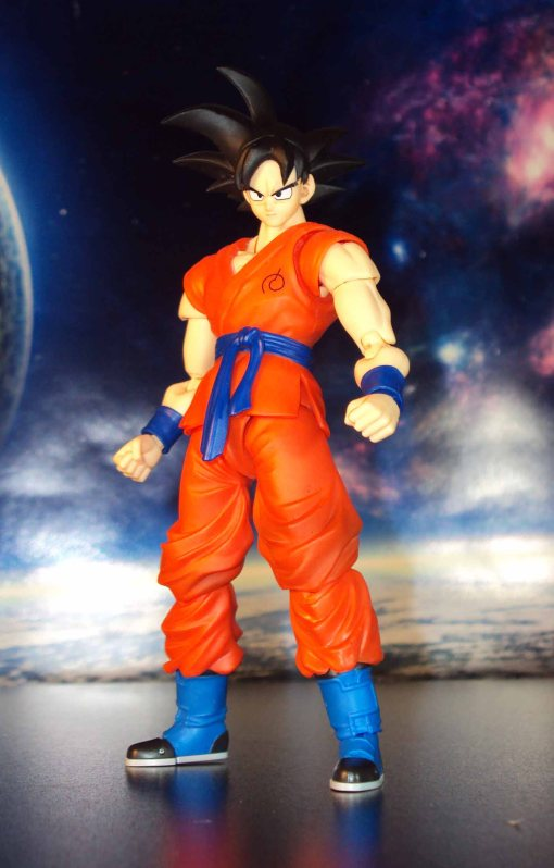 Bandai S.H. Figuarts Dragon Ball Z Super Saiyan God Super Saiyan Son Gokou 06