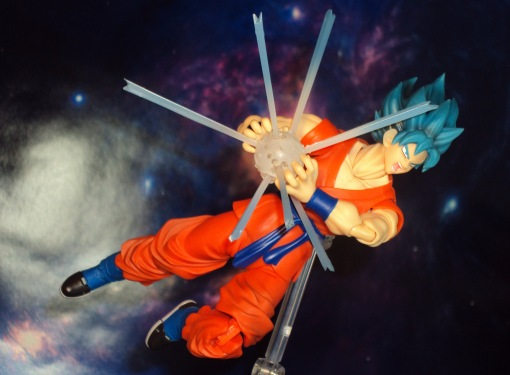 Bandai S.H. Figuarts Dragon Ball Z Super Saiyan God Super Saiyan Son Gokou 07