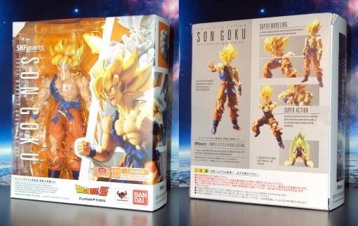 Bandai S.H.Figuarts Super Saiyan Awakening Son Goku 01