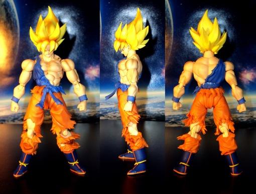 Bandai S.H.Figuarts Super Saiyan Awakening Son Goku 02