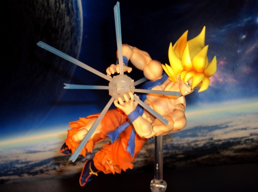 Bandai S.H.Figuarts Super Saiyan Awakening Son Goku 10