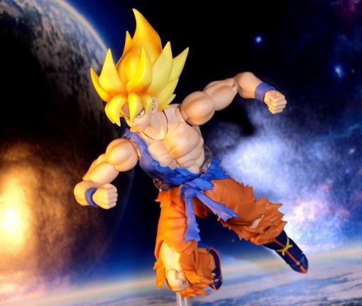 Bandai S.H.Figuarts Super Saiyan Awakening Son Goku 17