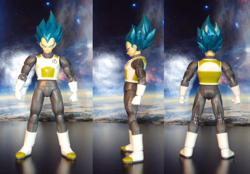 Bandai S.H. Figuarts Dragon Ball Super Saiyan Blue Vegeta 01