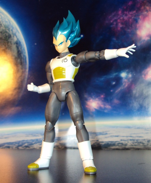 Bandai S.H. Figuarts Dragon Ball Super Saiyan Blue Vegeta 04