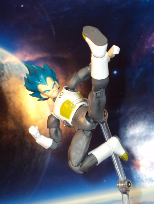 Bandai S.H. Figuarts Dragon Ball Super Saiyan Blue Vegeta 07