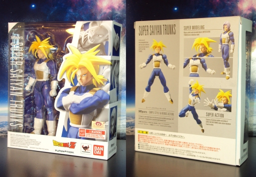 Bandai S.H. Figuarts Dragon Ball Z Super Saiyan Trunks Saiyan Armor 01